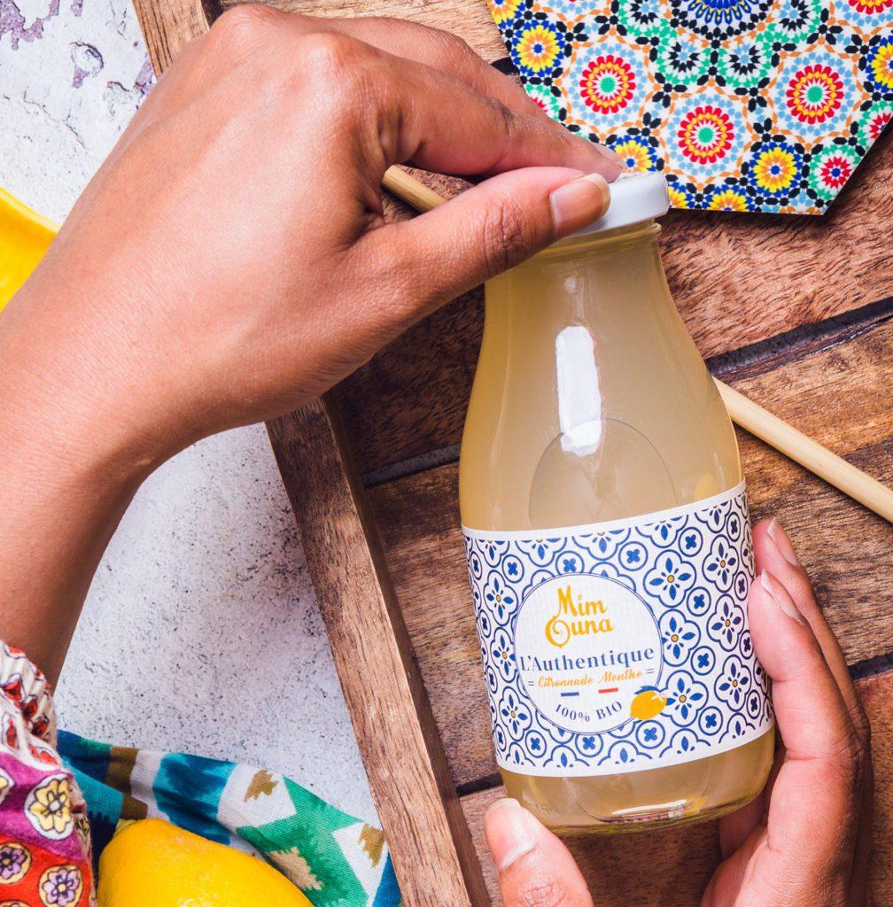 l'authentique citronnade à la menthe mimouna