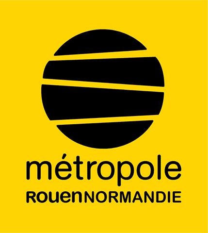 logo jaune metropole rouen normanadie
