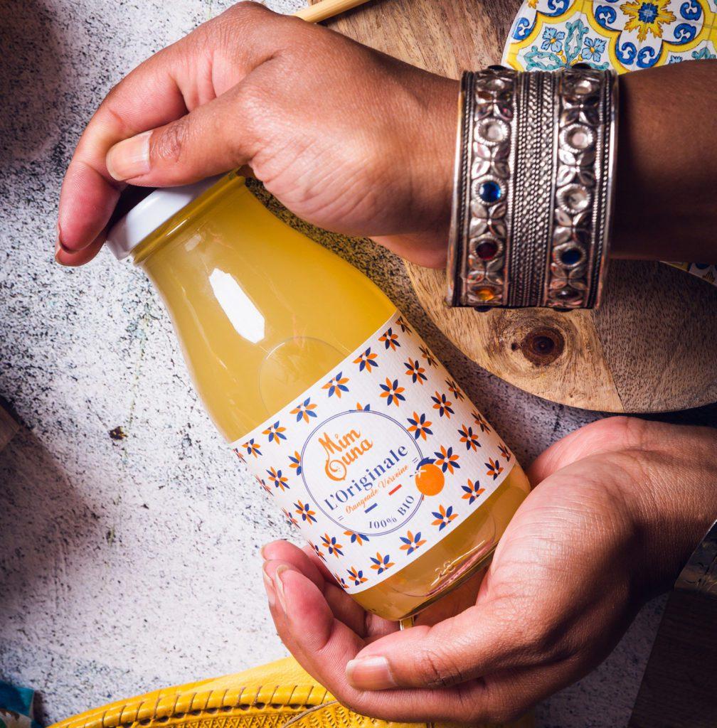 L'Originale orangeade verveine mimouna drinks