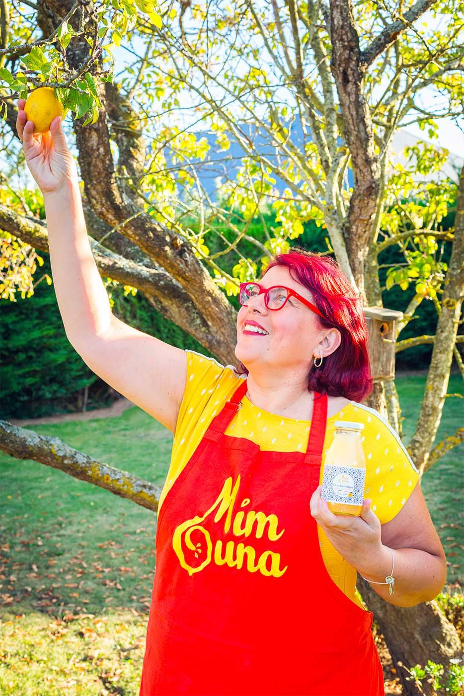 Nabila Namoune, fondatrice des citronnades bio et artisanales mimouna